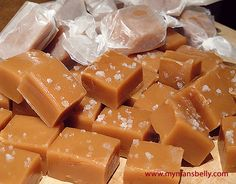 Sea Salt Caramels - Sea Salt recipes curated by SavingStar Grocery Coupons. Save money on your groceries at SavingStar.com