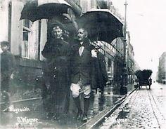 Munich et la Bavière, Louis II et Richard Wagner: Cosima and Siegfried singing in the rain
