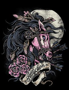 Tattoo Style Illustrations by Strawcastle