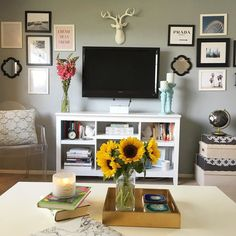 So happy to be back home and in my favorite room Traveling makes me appreciate living in California even more! #nohumidity #homedecor #sunflowers #weekendsathome