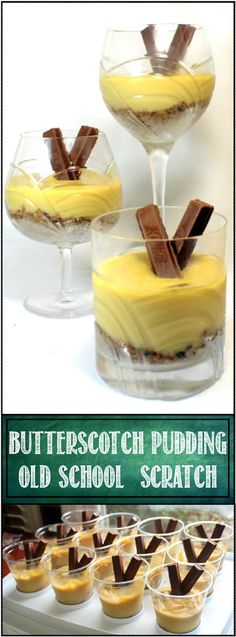 """- 52 Ways to Cook: """"Old School"""" Butterscotch Pudding (Scratch Recipe) – 52 Snacks … 52 Ways to Cook: """"Old School"""" Butterscotch Pudding (Scratch Recipe) – 52 Snacks for Children& Church Uk Recipes, Pudding Recipes, Dessert Recipes, Cooking Recipes, British Recipes, Cold Desserts, Fancy Desserts, Frozen Desserts, Old School Puddings"""