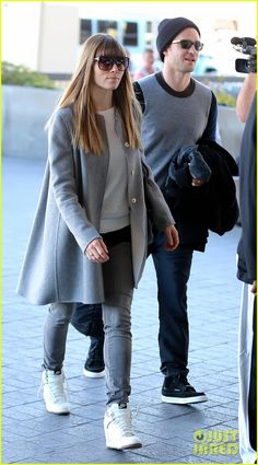 Justin Timberlake & Jessica Biel: LAX Departure Duo!