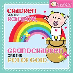 Love this quote from the adorable Goochicoo! How many grandchildren have you been blessed with? - LCM