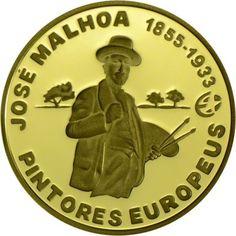 2,50 Euro Gold José Malhoa PP