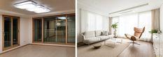 신반포팰리스 42평 아파트인테리어_우드향기가 번지는 집 [옐로플라스틱, 옐로우플라스틱, yellowplastic] : 네이버 블로그 Entry Hallway, Oversized Mirror, Divider, Construction, Interior, Room, House, Furniture, Home Decor