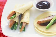 For Niamh's 1st Birthday // Peking duck pancakes