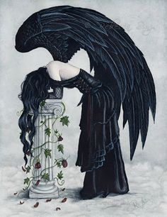 Goth Shopaholic: The Gothic Fantasy Art of Rebecca Sinz