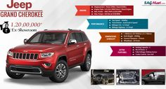 Check Jeep Grand Cherokee on road price, reviews, variants & photos. Read about specs, features, colours