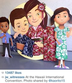 Meeting Caleb and Sophia at the Hawaii International Convention. Photo shared by Caleb Y Sophia, Jw News, Biblical Inspiration, Jehovah's Witnesses, Family Night, News Media, Home Schooling, Family Activities, Disney Princess