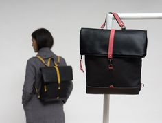 ANNIE red Annie, Leather Backpack, Backpacks, Red, Bags, Accessories, Collection, Fashion, Handbags