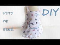 Peto de bebé: Costura para bebé. - Patronesmujer: Blog de costura, patrones y telas.