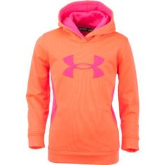Under Armour® Girls' Armour® Fleece Storm Big Logo Hoodie - Size XL - Lauren