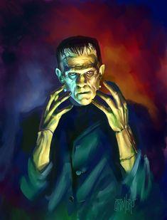 13 Nights 2009 Frankenstein by Grimbro.deviantart.com on @deviantART