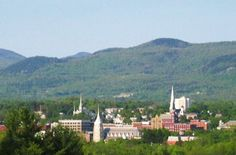 rutland vermont - it is a cute little town about the size of kingsport, tn