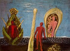 Dada-Gauguin, 1920 by Max Ernst on Curiator, the world's biggest collaborative art collection. Collages, Collage Art, Max Ernst Paintings, Digital Museum, Surrealism Painting, Art Archive, Naive Art, Art Institute Of Chicago, Fantastic Art