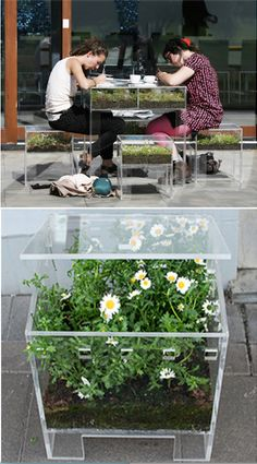 Grow what you eat where you eat—love this clever design!