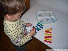 Montessori tálca, színek, sorozat, finommotorika Montessori, Blog, Home Decor, Decoration Home, Room Decor, Blogging, Home Interior Design, Home Decoration, Interior Design