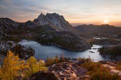 Enchantments, Alpine Lakes Wilderness | ... jonathan brenner sunrise in the enchantments alpine lakes wilderness