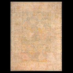Stock Id: #19855    General Rug Type:       Turkish Decorative    Specific Rug Type:       Oushak    Circa: 1880    Color: Ivory    Origin: Turkey - Angora    Width: 8' 6'' ( 259.1 cm )    Length: 11' 9'' ( 358.1 cm )
