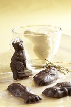 Ingredience: tuk ztužený (100%) 250 gramů, cukr moučkový 160 gramů, kakao 80 gramů, mléko sušené 4 lžíce, moučka škrobová 2 lžíce, cukr vanilkový 1 balíček.