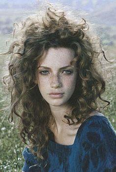wild hair...