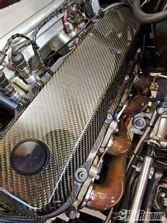 Carbon fibre valve cover
