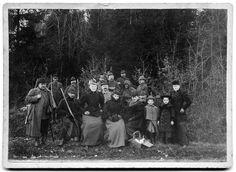 Wendland-Archiv - Jagdgesellschaft derer von dem Knesebeck in Corvin