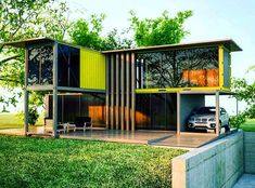 Next container – next container – palermo tarz prefabrik ev, modern - Building A Container Home, Container Buildings, Container Architecture, Container House Plans, Container Shop, Container House Design, Luxury Loft, Shipping Container Home Designs, Luxury House Plans
