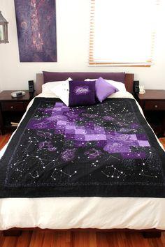 Celestial quilt. So cool!