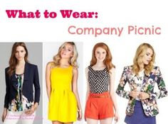 What to Wear: Company Picnic