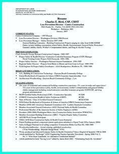 resume example construction worker examples and samples general contractor sample resumes. Resume Example. Resume CV Cover Letter