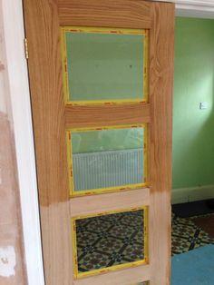 Door Oil enhancing the beauty of the wood