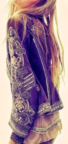 Embellished jackets.