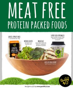 Meat Free - Protein Packed Foods