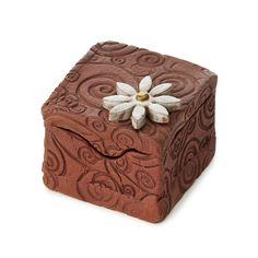 CERAMIC JEWELRY BOX | Treasure Box, Keepsake Gift Box | UncommonGoods