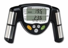 Professional trainers all know that the secret to long term exercise success is by measuring body fat composition.  The Omron HBF306C Healthcare Body Fat Loss Monitor is used by the professionals, but now you can easily measure your body fat at home.   This monitor is a great way to keep your measurements private without your friends seeing it.  $36.00 http://www.heartratemonitors.com/omron-306c.html