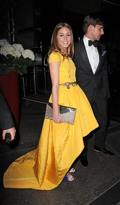 THE OLIVIA PALERMO LOOKBOOK: Olivia Palermo and Johannes Hubel at the New Yorkers for Children 10th Anniversary Spring Dinner Dance in NYC.