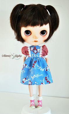 Atomic Blythe Vintage Style Girly Dress Three by AtomicBlythe, $35.00