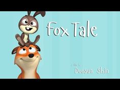 "CGI 3D Animated Short HD: ""Fox Tale"" - by Doosun Shin - YouTube tags :  animation shortfilm short cortometraje animal fox rabbit cartoon lol funny"