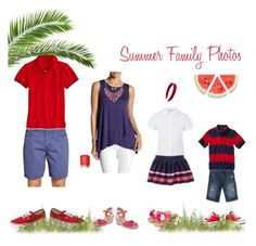Summer Family Photos! by emibphotography on Polyvore featuring Bobeau, George, Lucky Brand, Mixit, L. Erickson, American Eagle Outfitters, Bench, Vans, Essie and Quiksilver #emiBphotography