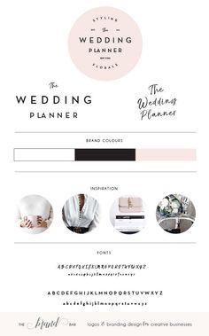 Logo Design / Custom Logo Design / Wedding Logo Design / Beauty Salon Logo Squarespace Watermark /Event Planner Logo Stamp / Business Logo by thebrandbar on Etsy https://www.etsy.com/listing/530605093/logo-design-custom-logo-design-wedding