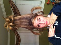 Cindy Lou who hair for spirit week!!!