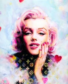 """""""Marilyn Vuitton"""" Limited Edition Giclee Print by Charmaine Olivia."""