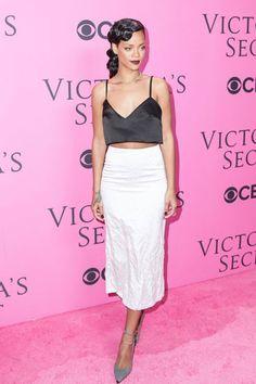 Rihanna at the Victoria's Secret Fashion Show.