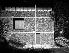 Herzog de Meuron - Case de Piedra, Tavole 1985