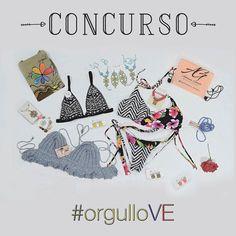 Concurso ORGULLO VE . Algunas tiendas & bloggers Venezolanas  nos hemos unido para traerles este INCREÍBLE SORTEO donde el AMOR por el talento Venezolano es el protagonista. Podrán ganarse todos los premios de la foto y  llevar con orgullo hermosas piezas originales creadas por venezolanas como tú  . Los pasos para participar son los siguientes: 1) Seguir a:  @dcados  @aiikolors @adrianagimon_swimwear @acidcioly @zuvianee @dnadosfotografia @Summerlovesdisenos @kikamakeupart @dcanutillo…