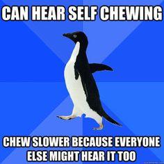 Hahaha!!! Socially Awkward Penguin meme