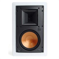 "Klipsch R3650W 6.5"" Two-Way In-Wall Loudspeaker - Each at World Wide Stereo"