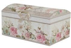 Šperkovnice s růžemi Decorative Boxes, Home Decor, Decoration Home, Room Decor, Home Interior Design, Decorative Storage Boxes, Home Decoration, Interior Design