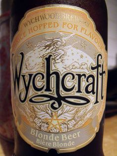Wychcraft beer from Wychwood Brewery